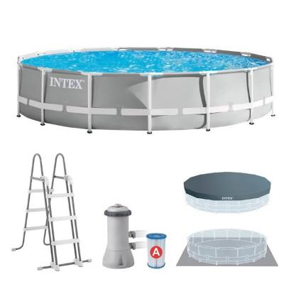 купить бассейн каркасный c фильтр-насосом 457х107см intex 26724  в интернет магазине INTEXHOUSE.RU