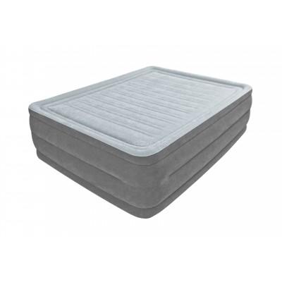 Купить кровать надувная двуспальная со встроенным насосом 220В 152х203х56см intex 64418 за 4590руб. в ИНТЕКСХАУС