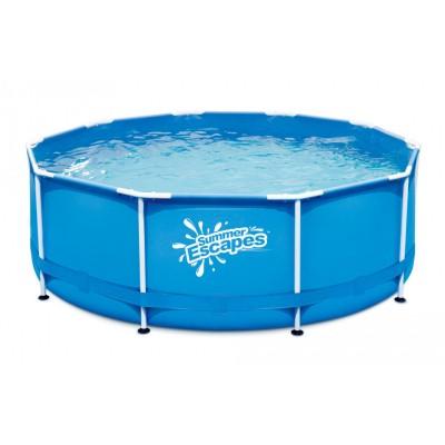 купить Бассейн каркасный 305х106см Summer Escapes Р20-1042 за 8590руб. в ИНТЕКСХАУС