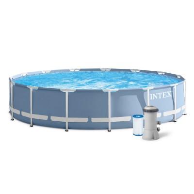 Купить бассейн каркасный c фильтр-насосом 366х76см intex 26712 в INTEXHOUSE.RU