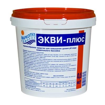 Экви-плюс 0,5 кг (средство для повышения pH воды бассейнов) 0047