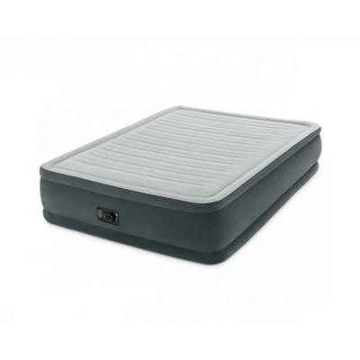 Купить кровать надувную двуспальную со встроенным насосом 220В 137х191х33см intex 67768 за 3450руб. в ИНТЕКСХАУС