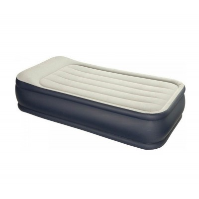 купить Кровать надувная односпальная со встроенным насосом 220В 99х191х43см intex 64132 за 3100руб. в ИНТЕКСХАУС