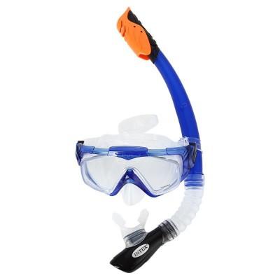 Набор для плавания Aqua Pro (маска, трубка) intex 55962
