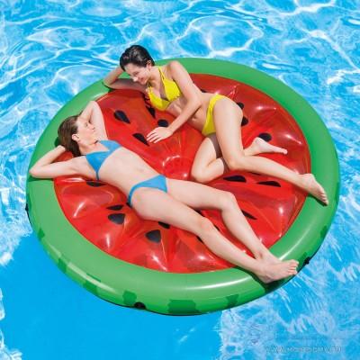 купить надувной матрас для плавания Арбуз 183х23см intex 56283 по оптовой цене в ИНТЕКСХАУС