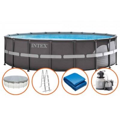 Бассейн каркасный Ultra Frame Pool 549х132см intex 26330