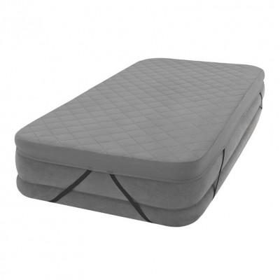 Покрывало-наматрасник для надувной кровати  99х191см intex 69641