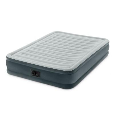 купить Кровать надувная двуспальная со встроенным насосом 220В 152х203х33см intex 67770 за 3630руб. в ИНТЕКСХАУС