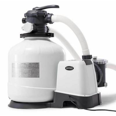 купить Песочный фильтр-насос 220 В, 10 м3/ч intex 28652 за 15900руб. в ИНТЕКСХАУС