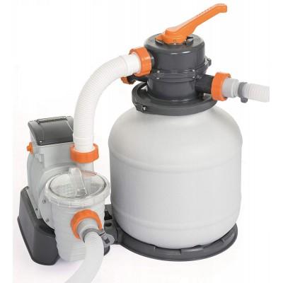 купить Песочный фильтр-насос 220 В, 5678 л/ч, Bestway 58497 за 10240руб. в ИНТЕКСХАУС
