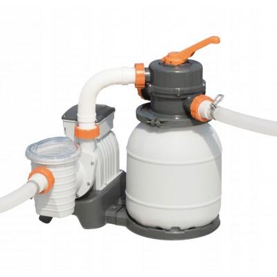 купить Песочный фильтр-насос 220В, 3785 л/ч Bestway 58495 за 8690руб. в ИНТЕКСХАУС
