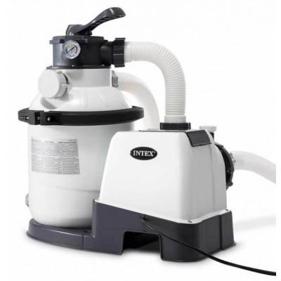 купить Песочный фильтр-насос 220В, 4000 л/ч intex 26644 за 8600руб. в ИНТЕКСХАУС