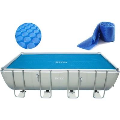 Тент солнечный прозрачный для бассейнов 400х200см INTEX 29028