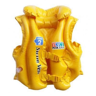 купить Жилет желтый, 3-6 лет intex 58660 за 200руб. в ИНТЕКСХАУС