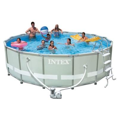 купить Бассейн каркасный Ultra Frame Pool 488х122см intex 28322 за 30900руб. в ИНТЕКСХАУС
