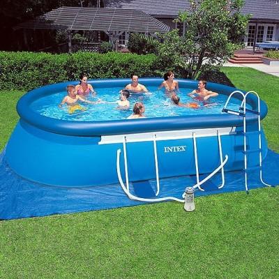 купить Бассейн надувной на опорах 549х305х107см intex 28192 за 24500руб. в ИНТЕКСХАУС