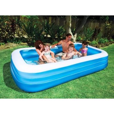 купить Бассейн семейный голубой 305х183х56см intex 58484 за 2500руб. в ИНТЕКСХАУС