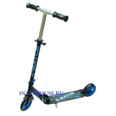 Купить самокат RW-Sport X-MATCH 145 синий в интернет-магазине INTEXHOUSE.RU