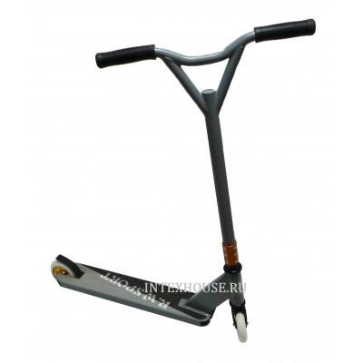 Купить самокат трюковой RW-Sport Т015S серый в интернет магазине ИНТЕКС ХАУС