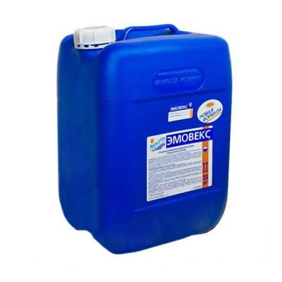 Эмовекс, новая формула, 20 л (универсальная защита и дезинфекция воды), канистра