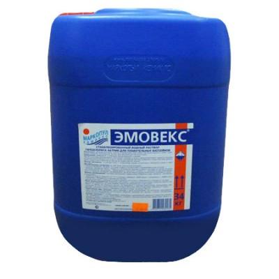 Эмовекс, новая формула 30 л (универсальная защита и дезинфекция воды), канистра