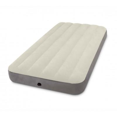 купить Матрас надувной односпальный 99х191х25см intex 64707 за в ИНТЕКСХАУС