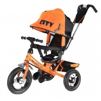 Trike City JD7, оранжевый - велосипед трехколесный