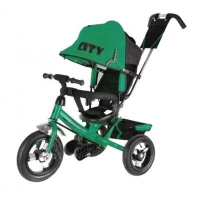 Trike City JD7, зеленый - велосипед трехколесный
