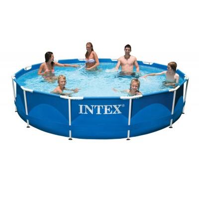 Купить бассейн каркасный 366х76см intex 28210 за 5600руб. в ИНТЕКСХАУС