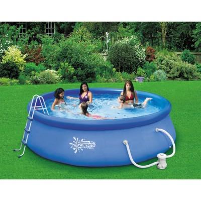 купить Бассейн с надувным верхним кольцом 396х99см Summer Escapes Р21-1339-F за 8900 руб. в ИНТЕКСХАУС