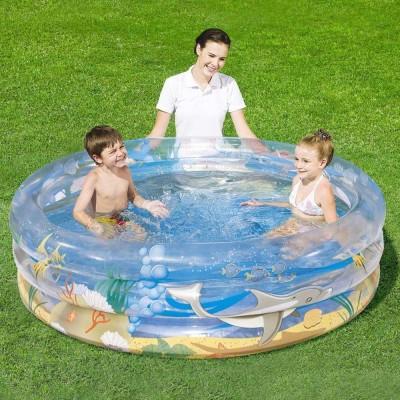 Бассейн детский Морская жизнь 150х53см BestWay 51045