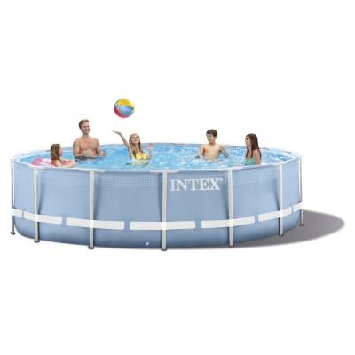 Купить бассейн каркасный c фильтр-насосом 366х76см intex 28712 в INTEXHOUSE.RU