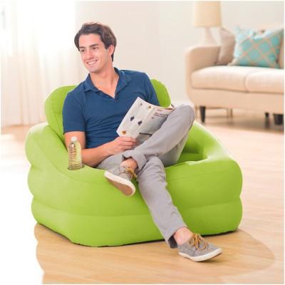 Купить кресло надувное 107х97х71см intex 68586 Accent Chair за 2290руб. в ИНТЕКСХАУС