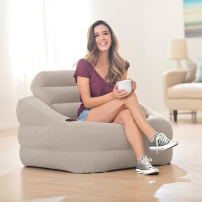 Кресло надувное Accent Chair 107х97х71см intex 68587