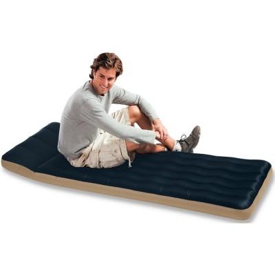 Купить матрас надувной односпальный (без насоса) 67х184х17см intex 68797 Camping в интернет магазине ИНТЕКСХАУС