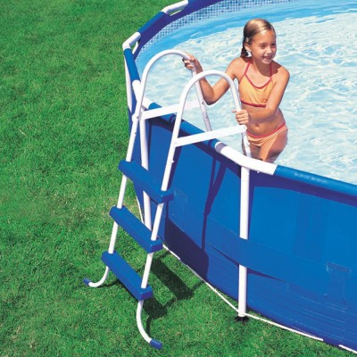 купить Лестница для бассейна 107см intex 28061 за 3490руб. в ИНТЕКСХАУС