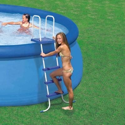 купить Лестница для бассейна 132см intex 28063 за 5200руб. в ИНТЕКСХАУС