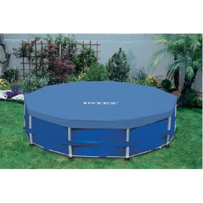 купить Тент для каркасного бассейна 457см intex 28032 за 1390руб. в ИНТЕКСХАУС
