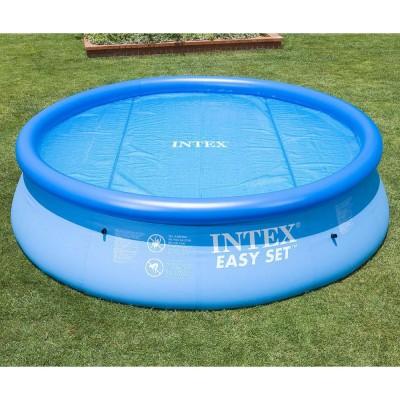купить Тент солнечный прозрачный для бассейнов 305см intex 29021 за 1400руб. в ИНТЕКСХАУС