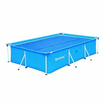 купить Тент солнечный прозрачный для прямоугольного бассейна 300х201см Bestway 58243 за 1200руб. в ИНТЕКСХАУС