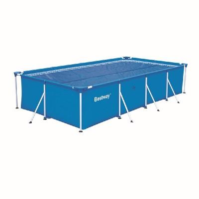 купить Тент солнечный прозрачный для прямоугольного бассейна 400х211см Bestway 58244 за 2100руб. в ИНТЕКСХАУС