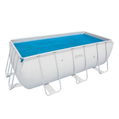 купить Тент солнечный прозрачный для прямоугольного бассейна 412х201см Bestway 58240 за 1650руб. в ИНТЕКСХАУС