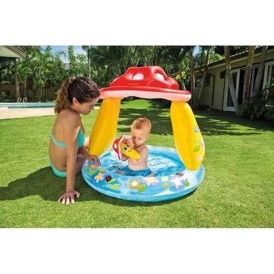 купить Бассейн детский Грибок с надувным дном 102х89см intex 57114 за 750руб. в ИНТЕКСХАУС