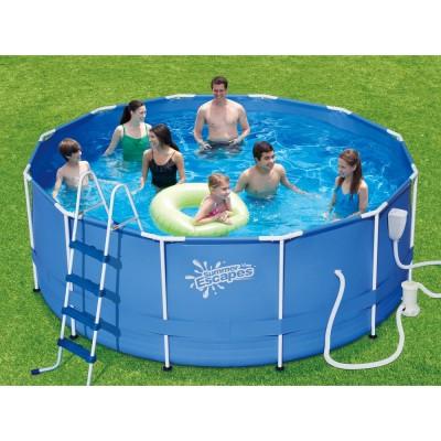 купить Бассейн каркасный 396х132см Summer Escapes Р20-1352-B за 22490руб. в ИНТЕКСХАУС