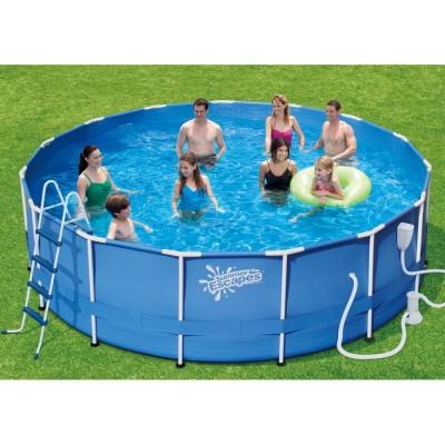 купить Бассейн каркасный 457х132см Summer Escapes Р20-1552-В за 26490руб. в ИНТЕКСХАУС