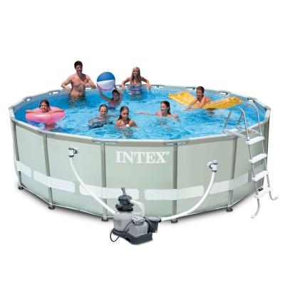 купить Бассейн каркасный Ultra Frame Pool 488х122см intex 28324 за 41900руб. в ИНТЕКСХАУС