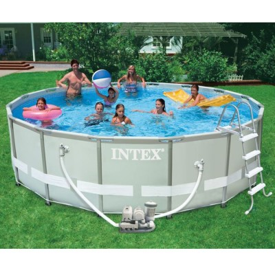 купить Бассейн каркасный Ultra Frame Pool 488х122см intex 28328 за 34990руб. в ИНТЕКСХАУС