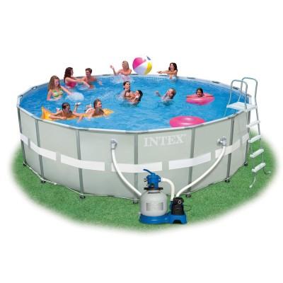 купить Бассейн каркасный Ultra Frame Pool 549х132см intex 28336 за 49500руб. в ИНТЕКСХАУС