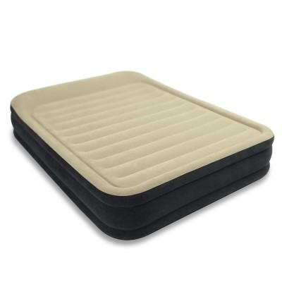 купить Кровать надувная двуспальная со встроенным насосом 220В 152х203х33см intex 64404 за 4090руб. в ИНТЕКСХАУС
