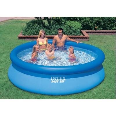 купить Бассейн с надувным верхним кольцом 305х76см intex 28120 за 2840руб. в ИНТЕКСХАУС